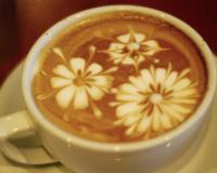 печать на кофе