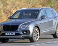 ������ ��������� Bentley Bentayga ���������� �������������� �� ����������� ������� � ������